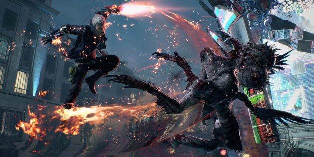 Devil May Cry 5: старайтесь получать высокий ранг в бою