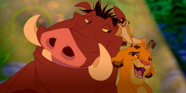 Мультфильм «Король Лев»: песни тесно вплетены в повествование, движут действие, раскрывают персонажей