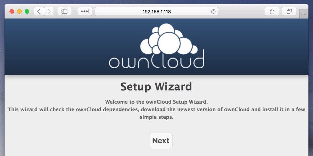 Raspberry Pi: Собственное облако