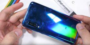 Xiaomi Mi 9 отлично справился с тестом на прочность