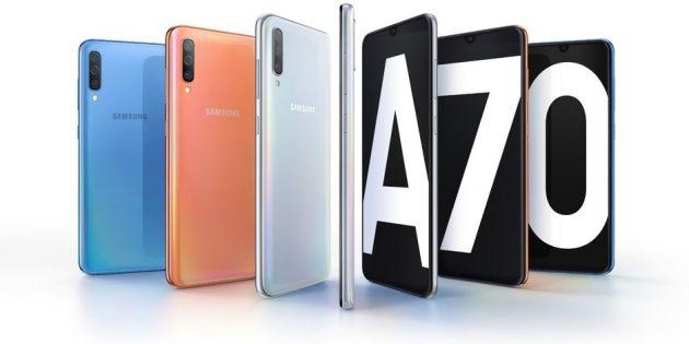 Лучшие смартфоны марта 2019года: технические характеристики Samsung Galaxy A70