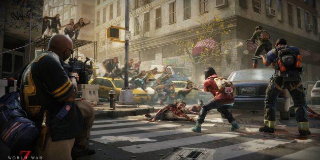 World War Z: В группах по четыре человека игрокам предстоит обороняться от орд зомби
