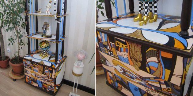 Реставрация мебели с Avito: новая жизнь старой этажерки