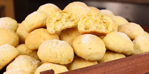 Цитрусовое постное печенье