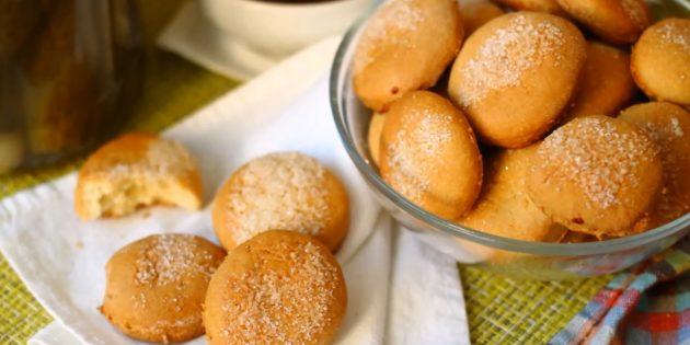 Постное кукурузное печенье - рецепт пошаговый с фото