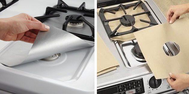 Защитная накладка для газовой плиты