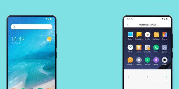 Xiaomi выпустила новый лаунчер Mint в стиле Pocophone F1