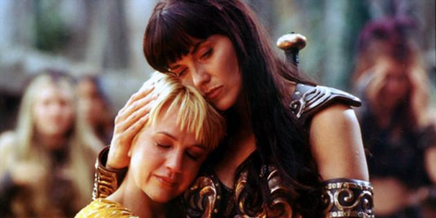 Фильмы о сильных женщинах: Зена и Габриэль