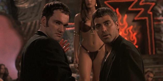 Квентин Тарантино: Тарантино с Джорджем Клуни