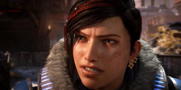 Gears 5: герои узнают, что Кейт — внучка королевы саранчи