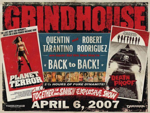 Квентин Тарантино: Тарантино объединился с Робертом Родригесом и организовал проект «Грайндхаус»
