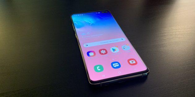 Samsung Galaxy S10+: общий вид