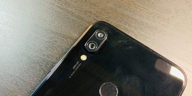 Redmi Note 7: Модуль камеры