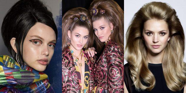 Модные женские причёски 2019: объём в стиле 1960-х