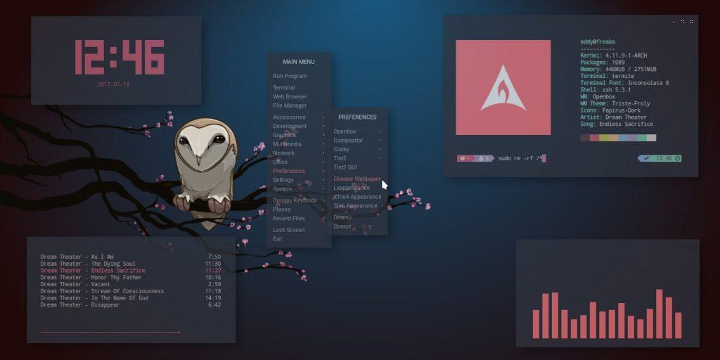 Операционная система Linux: настраиваемый интерфейс