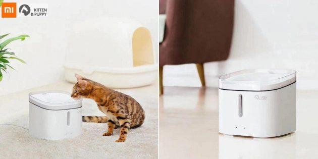 Кошачья поилка