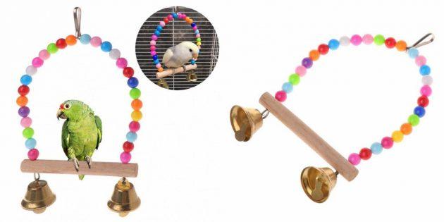 Качель для попугая