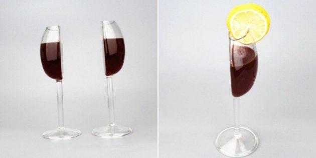 Необычный бокал