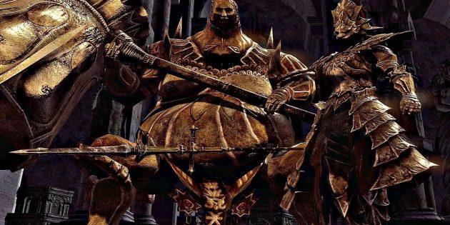 Орнштейн Драконоборец и Палач Смоуг — Dark Souls