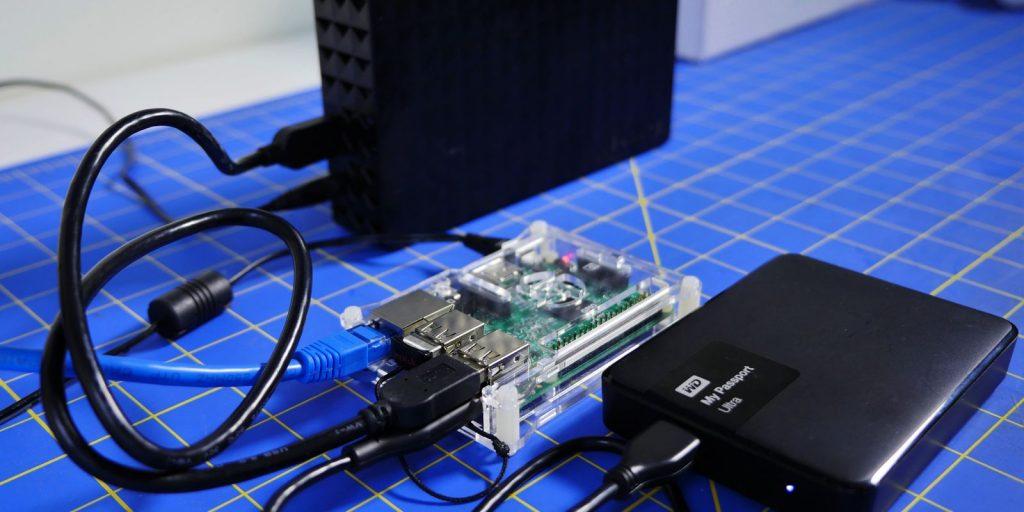 Raspberry Pi: Сетевой диск