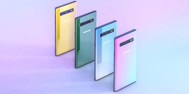 Каким будет Samsung Galaxy Note 10: яркий концепт со знакомым дизайном