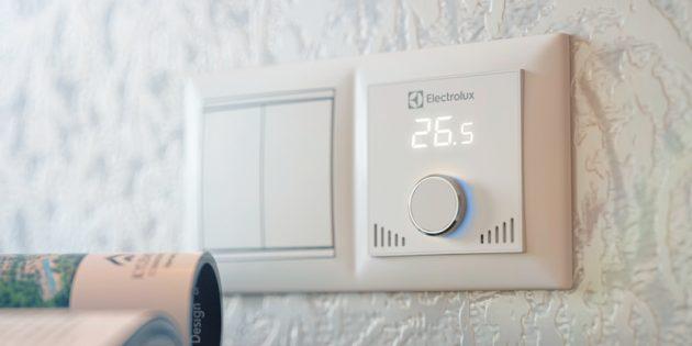 Терморегулятор для тёплого пола Electrolux ETS-16впишется в любой интерьер