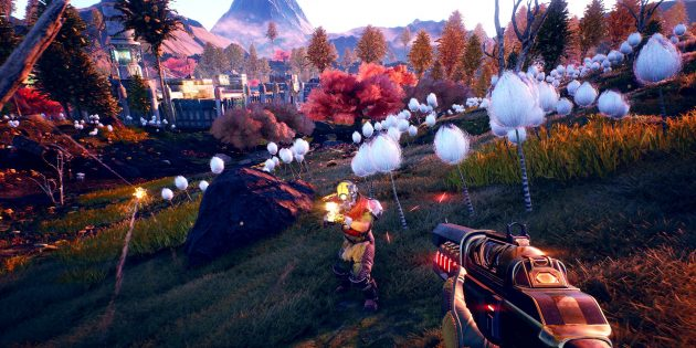 The Outer Worlds: главный герой — колонист, которого один из жителей поселения вывел из криосна