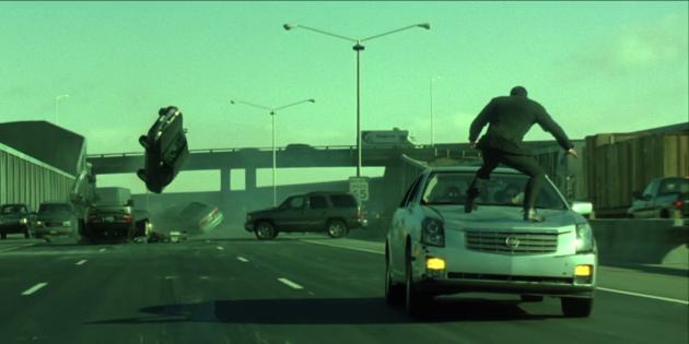 Все части «Матрицы» — хиты кинопроката: для съёмок сцены погони построили отдельное трёхполосное шоссе