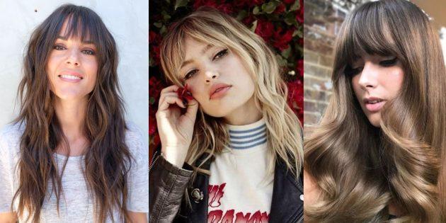Модные женские стрижки 2019года: длинные волосы в стиле хиппи