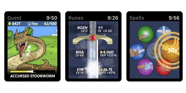 Игры для Apple Watch: Runeblade
