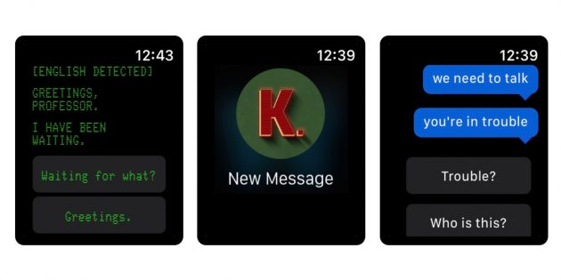 Игры для Apple Watch: KOMRAD