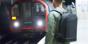 Штука дня: рюкзак со сканером отпечатков пальцев, подсветкой и пожизненной гарантией