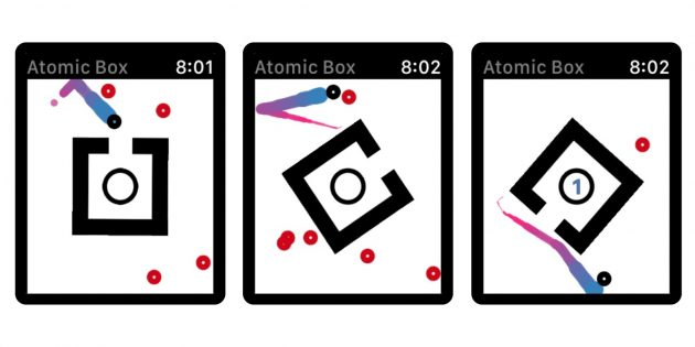 Игры для Apple Watch: AtomicBox
