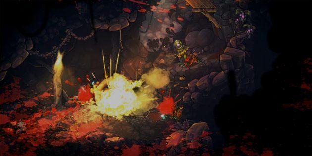 Игра дня: Zombotron — взрывной платформер про наёмника на таинственной планете