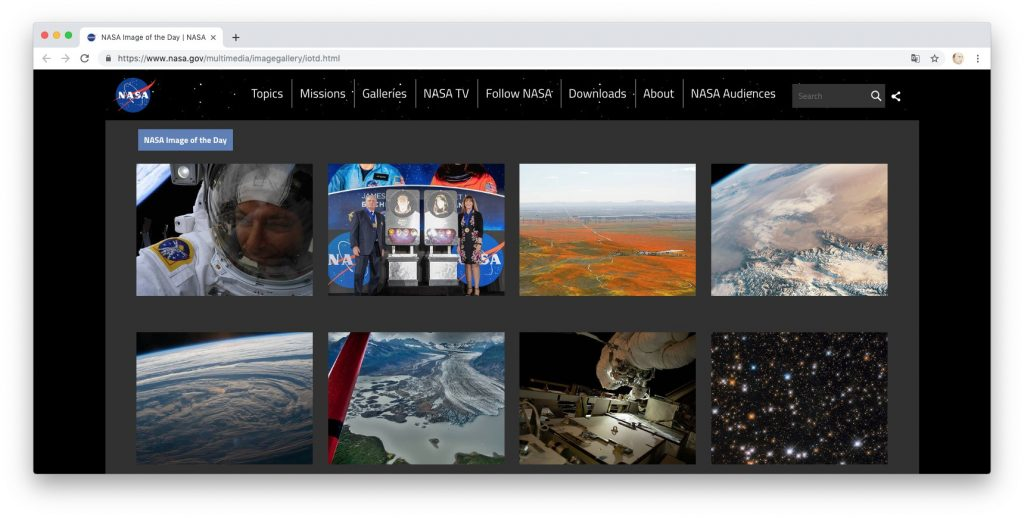 NASA Galleries