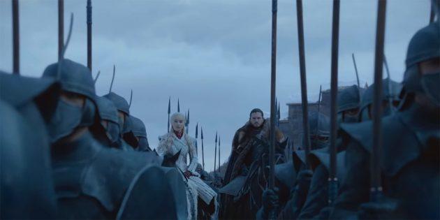 HBO выпустила два новых тизер-ролика финального сезона «Игры престолов»
