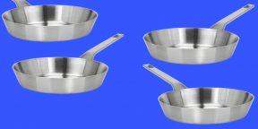 Как оттереть нагар от сковородки или кастрюли с помощью соли и воды