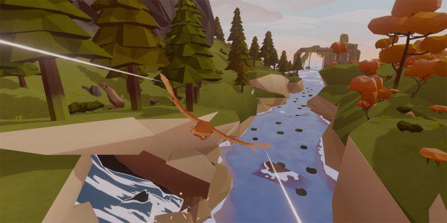 Игра дня: Feather — умиротворяющий симулятор птицы на красивом острове