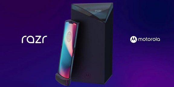 В Сети появились рендеры Motorola RAZR 2019 вместе с коробкой