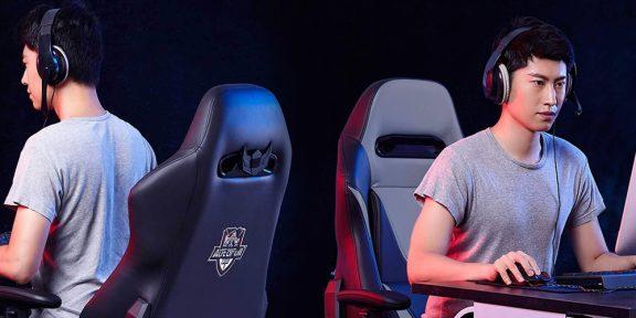 Xiaomi анонсировала кресло AutoFull Gaming Chair, на котором можно лежать
