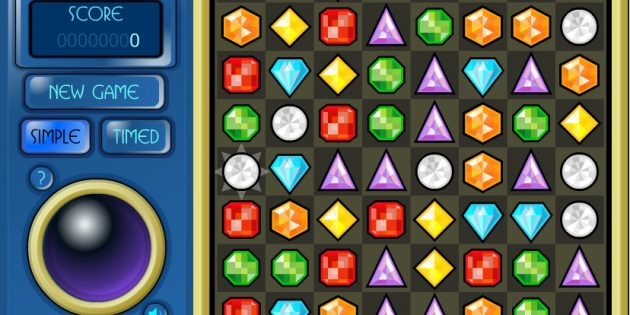 Флеш-игры: Bejeweled