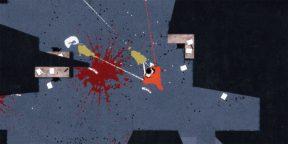 Игра дня: APE OUT — стильный и кровавый экшен про побег из зоопарка