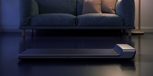 Xiaomi представила беговую дорожку, которую можно легко убрать под кровать
