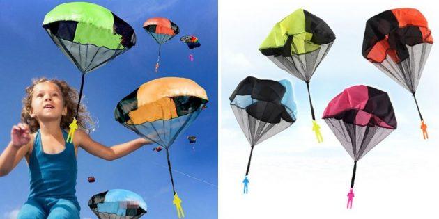 Мини-парашюты