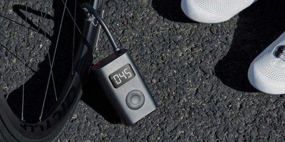 Xiaomi выпустила автоматический насос для велосипедов, машин и мячей