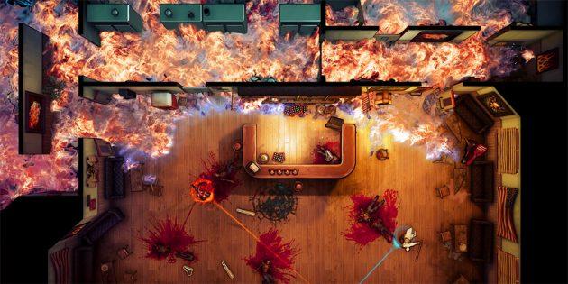 Игра дня: God; s Trigger — кровавый экшен с видом сверху в духе «Убить Билла»
