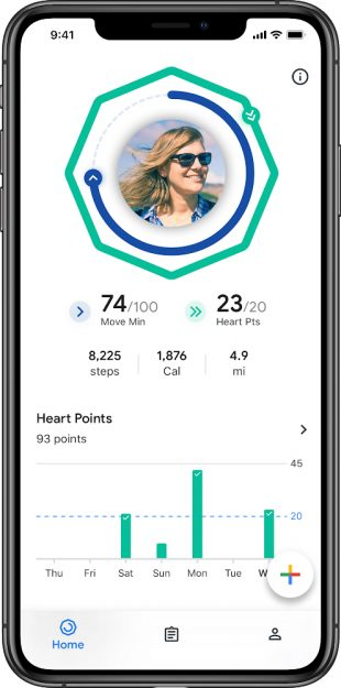 Фитнес-приложение Google Fit вышло на iOS