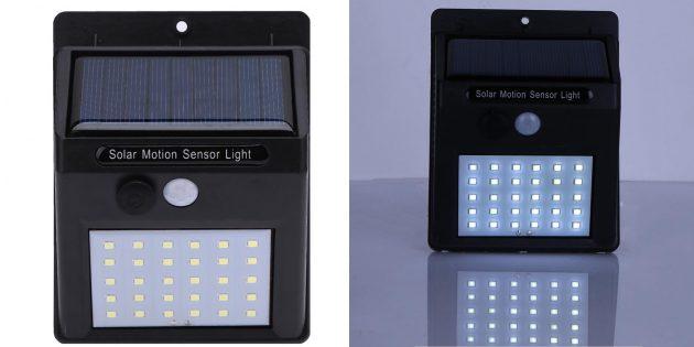 Светодиодный фонарь на солнечной батарее
