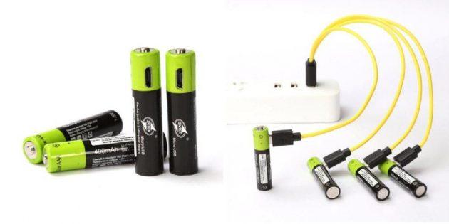 Многоразовые батарейки