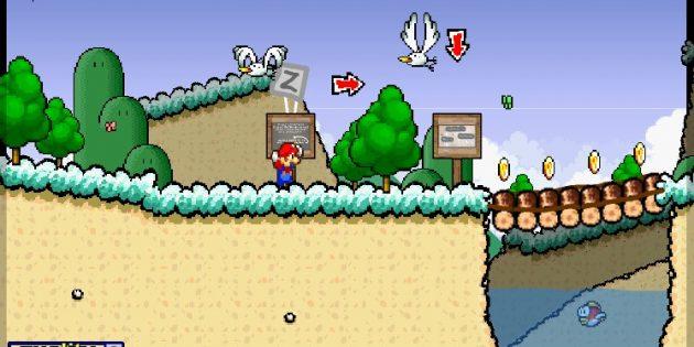 Флеш-игры: Super Mario 63